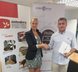 Firma convenio Intercobros - Asmadera web2